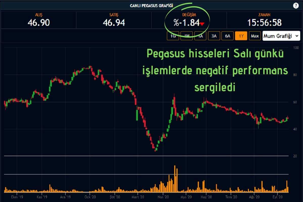 Pegasus Hisseleri Düşüşte